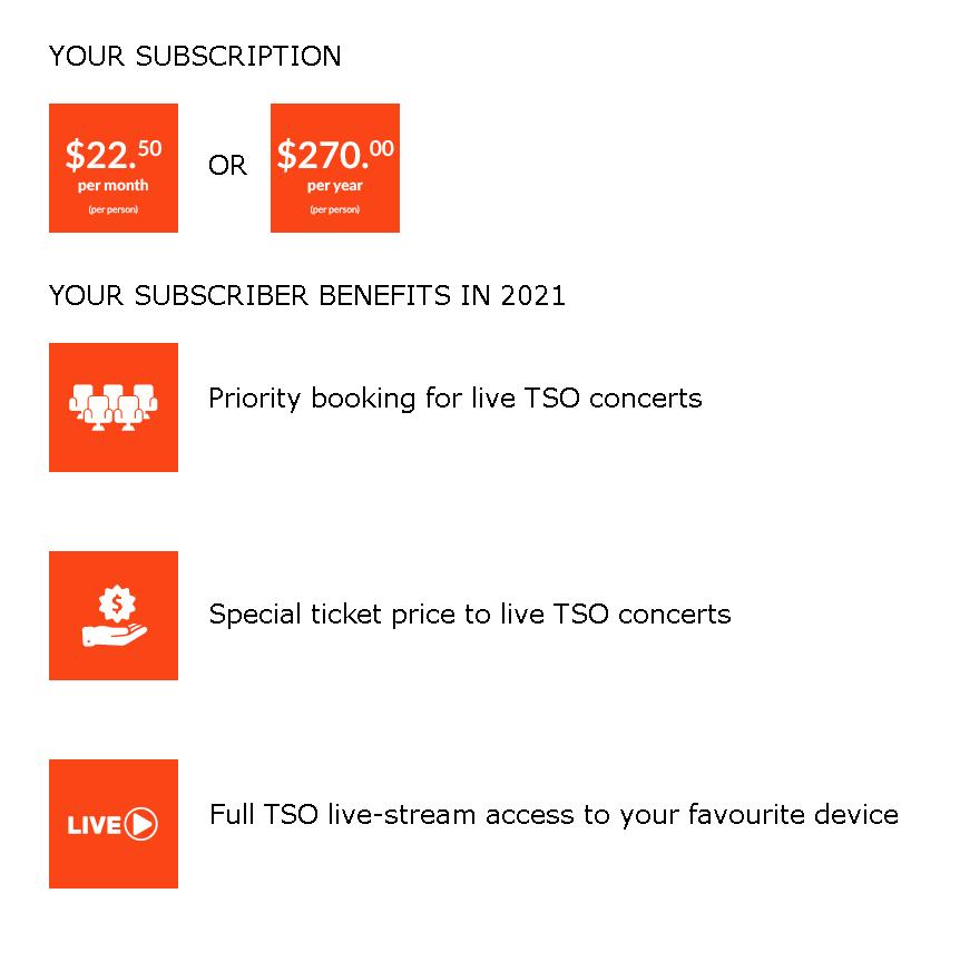 2021 TSO Subscription